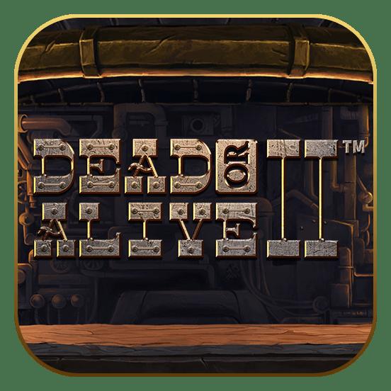 dead or alive 2 logo icon video slot Netent