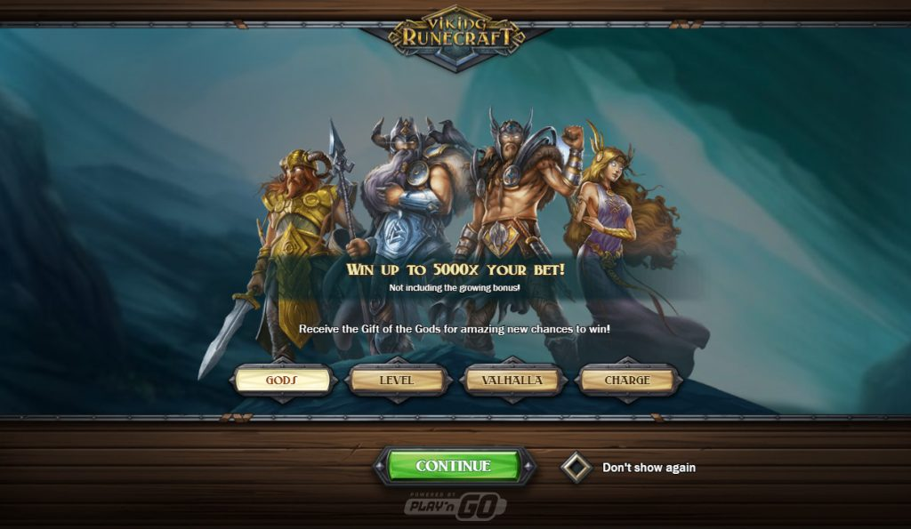 viking runecraft feature screenshot video slot play'n Go